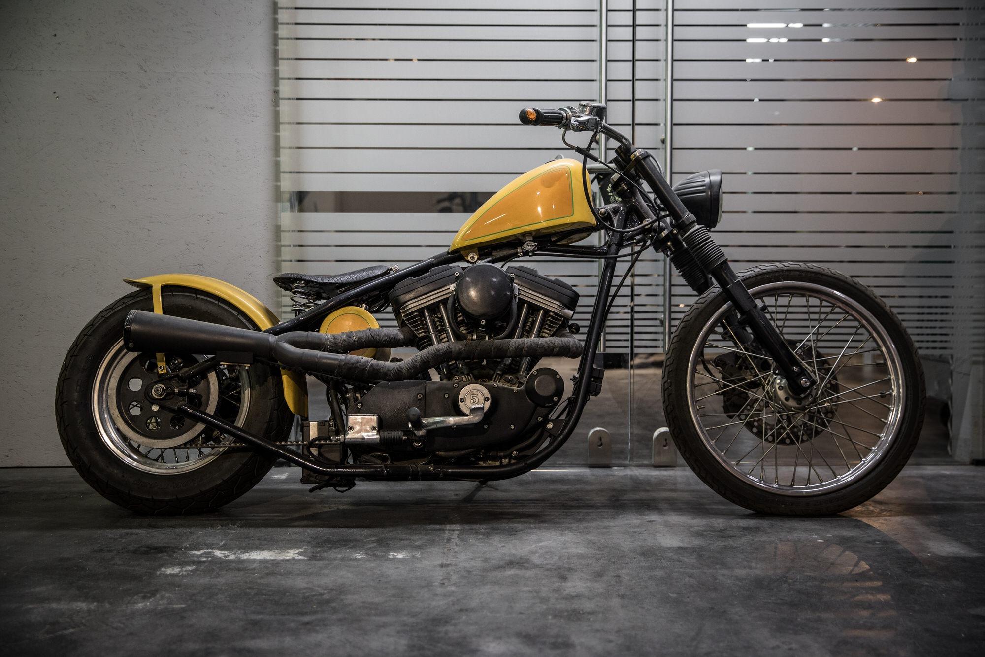 Harley Starrahmen Sportster Evo